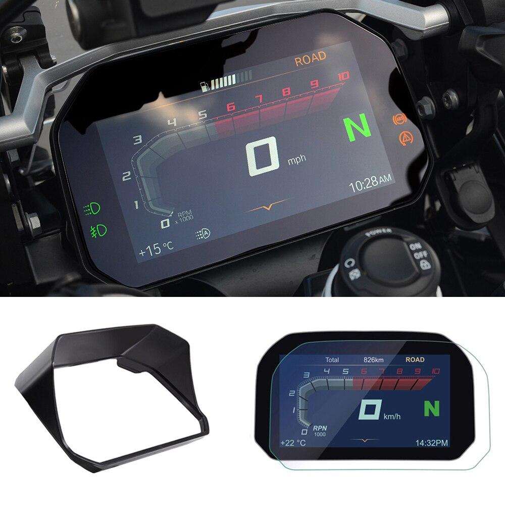 Para BMW R1200GS C400X F750GS F850 R1250GS Adventure 2018 clúster película de protección contra arañazos Protector de pantalla de moto LC Adventure