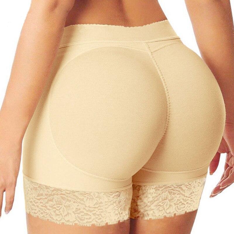Женские безопасные короткие штаны, дышащие, одноцветные, мягкие, для коррекции тела, трусы, подтягивающие попу, трусики, увеличивающие объем бедер, пуш-ап