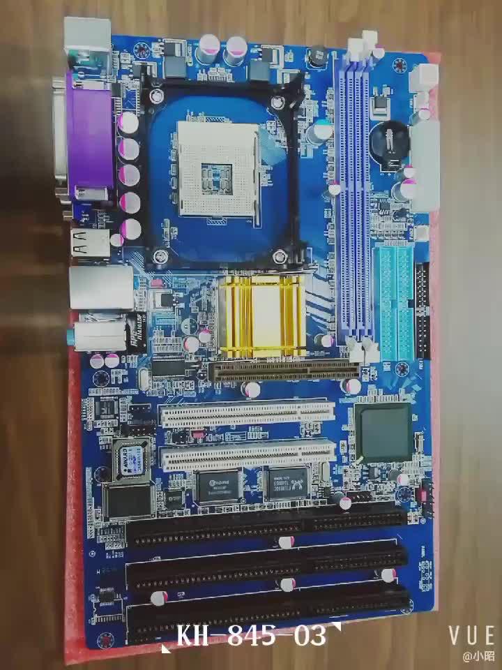OEM مصنع atx 845 المقبس 478 اللوحة مع 3 فتحات ISA و 2 PCI