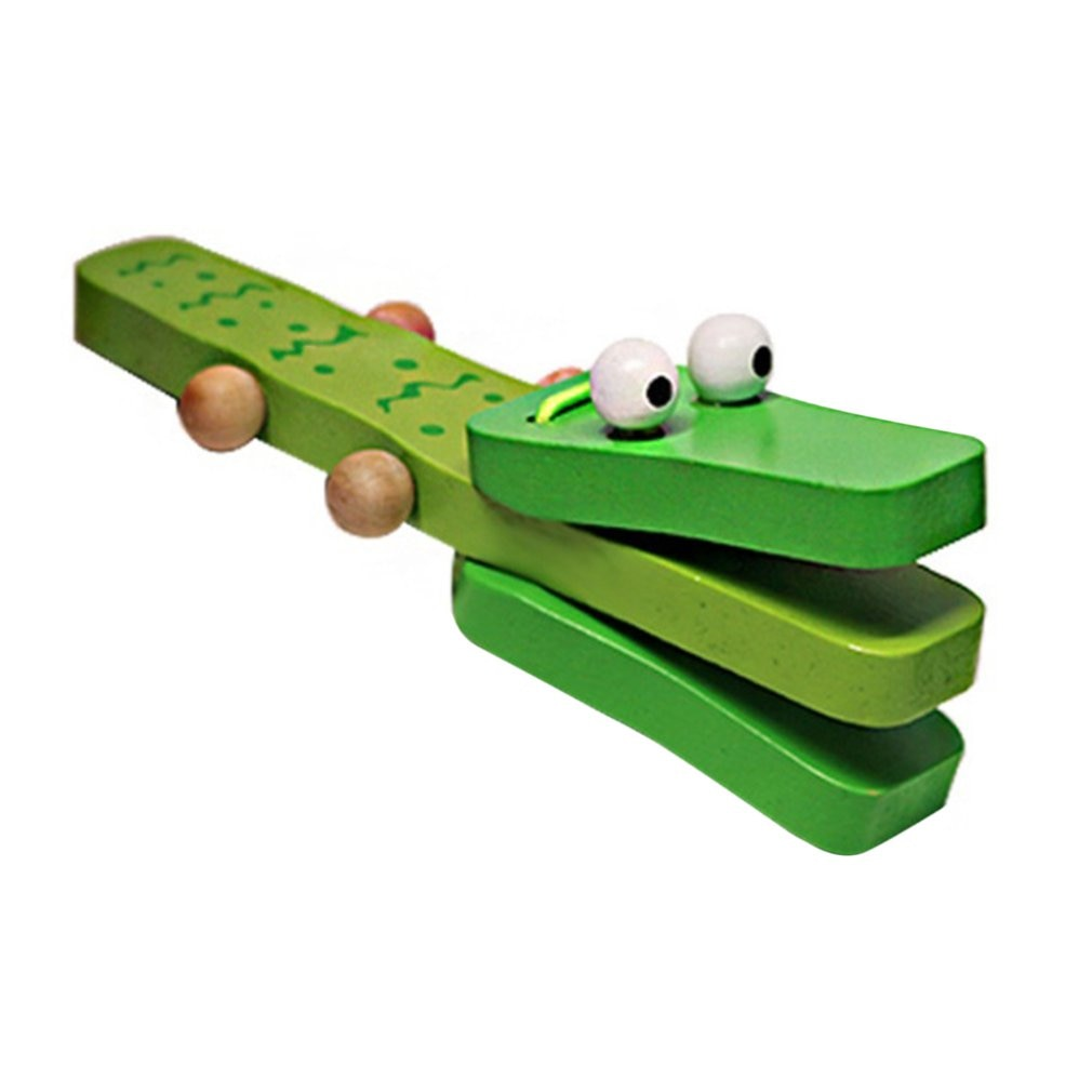 Orffworld в форме крокодила деревянные кастаньеты, автомобильное кресло, музыкальный инструмент мультфильм детские музыкальные развивающие иг...