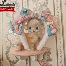 Serre-tête Lolita en forme de chaton   Joli serre-tête avec nœud de marque Alice Girl, pré-commande