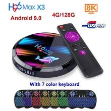 H96 MAX X3 Android TV Box H96 TV Box Netflix Youtube HD 8K TV Box Android 9.0 Google vocal Assistant H96 max X3 Smart Tv Box