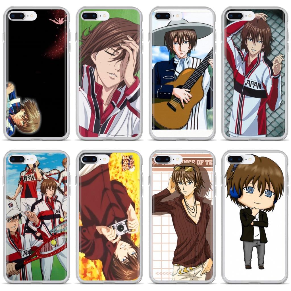Fuji Syusuke Seigaku Príncipe directo para iPhone 11 Pro 4 4S 5 5S SE 5C 6 6S 7 7 8X10 XR XS Plus Max para iPod Touch funda de silicona