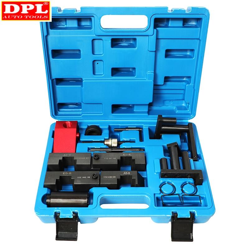 Engine Timing Camshaft Locking Alignment Setting Tool Kit For BMW M40 M42 M50 M60 M62 M70 ST0203 Timing Tool For BMW M60 M62 M70
