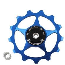MEROCA vtt VTT 11T 13T alliage daluminium vélo en acier roulement Jockey roue dérailleur arrière poulie Guide poulies