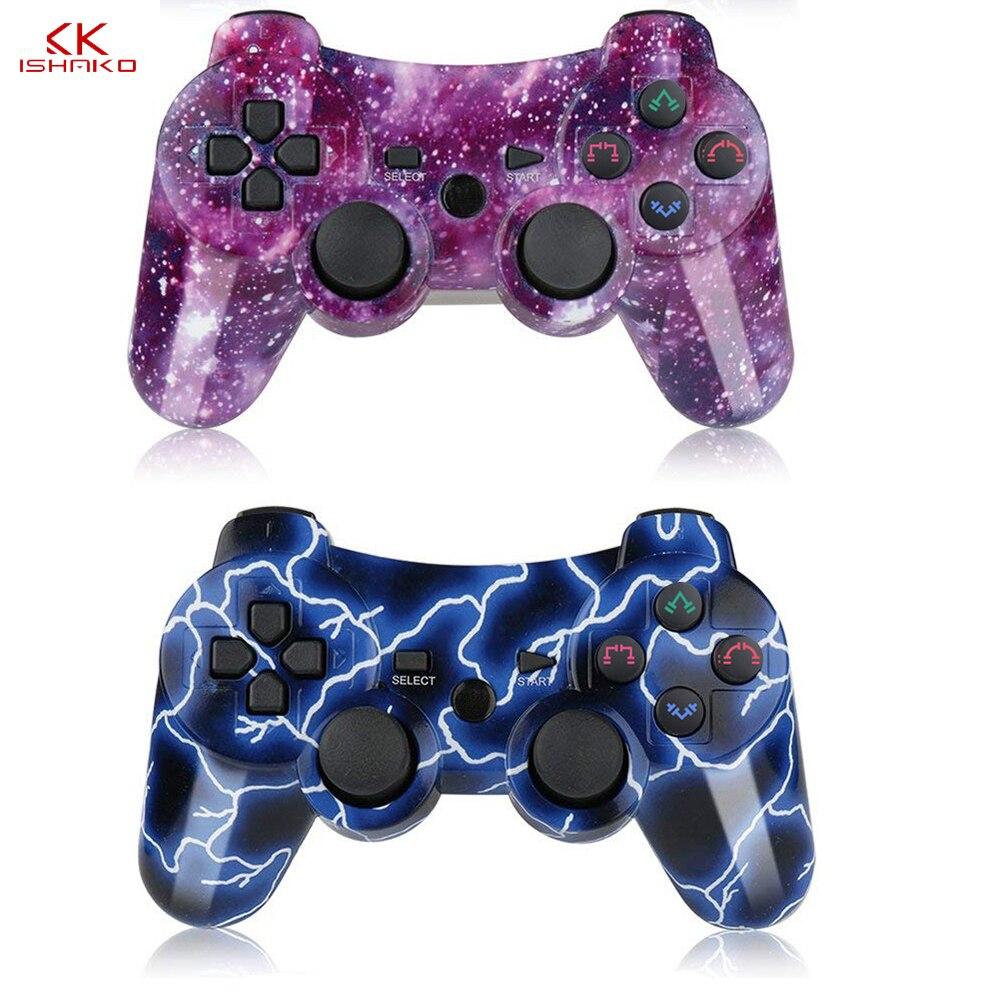 K ISHAKO беспроводные игровые контроллеры Bluetooth игровой геймпад для Sony PS3 игровой джойстик контроллер игровой консоли джойстик