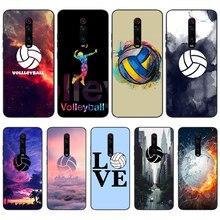 Viviana I люблю волейбол DIY Окрашенные шикарные чехлы для телефонов Redmi K20 Note4 4X 5 5A 6 6PRO 7 8 8PRO