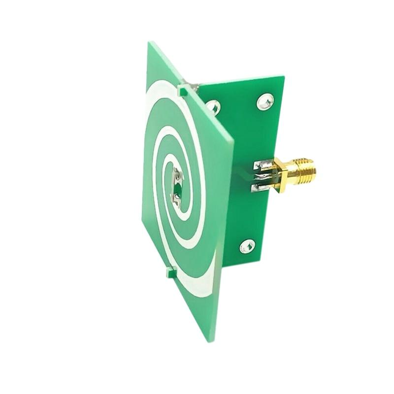 2.4-5.8GHz UWB Circular Polarization UWB Antenna Spiral Antenna Isometric Helical Antenna
