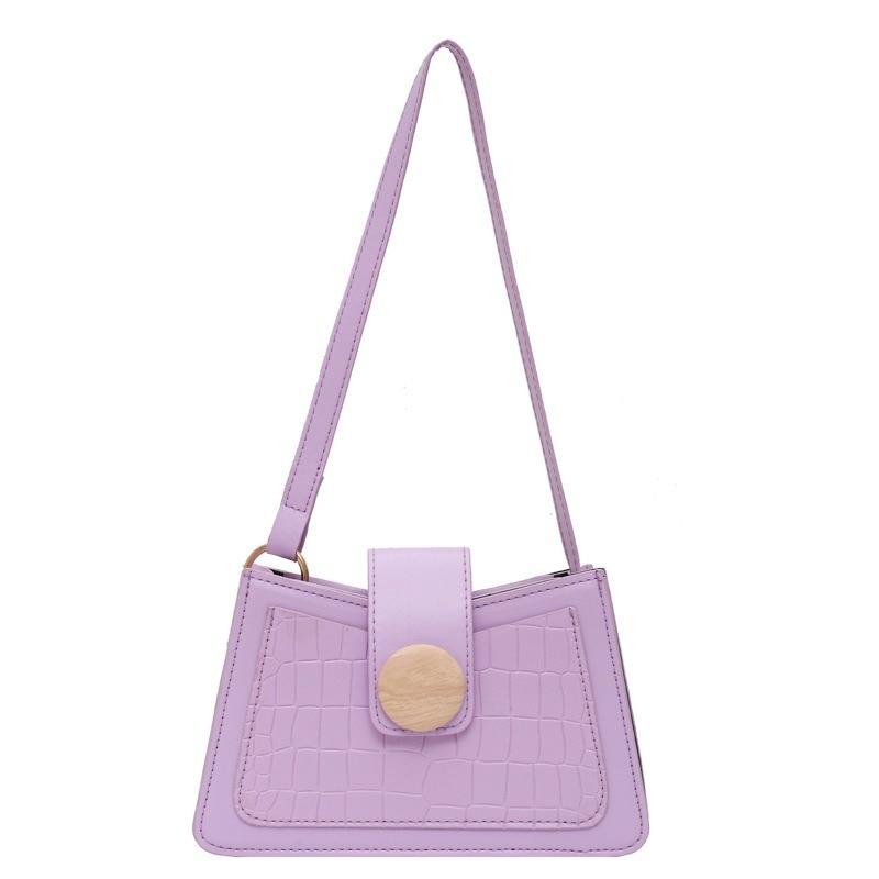 Crocodile Pattern Women Shoulder Messenger Bag High Quality Leather Vintage Female Purses And Handbags Shopper Jacquemus Bag