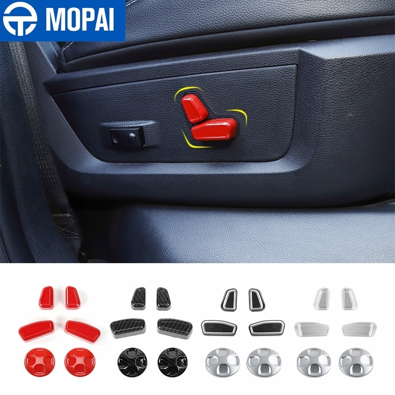 AliExpress - MOPAI Car Electric Seat Adjustment Button Decoration Cover Stickers for Dodge RAM 2010+ Interior Accessories