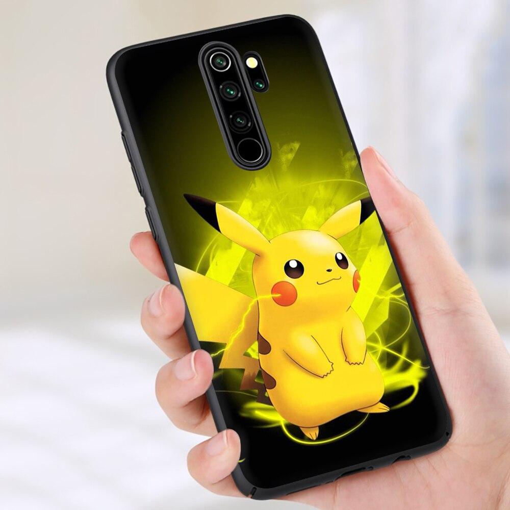Monstruos de bolsillo pokémons Pikachus, funda de teléfono para Xiaomi de silicona suave Redmi Note 4 4X 5 6 7 8 9 Pro Max 8T 9S 5A Prime