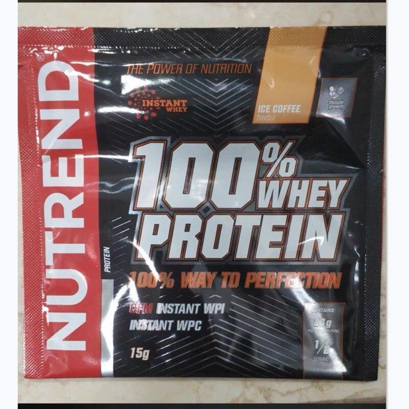 Nutrend suplemento muscular bcaa, saco de 1 de 15g, proteína, nutrição, isolar, optimum festival, fortalecimento superior e energia