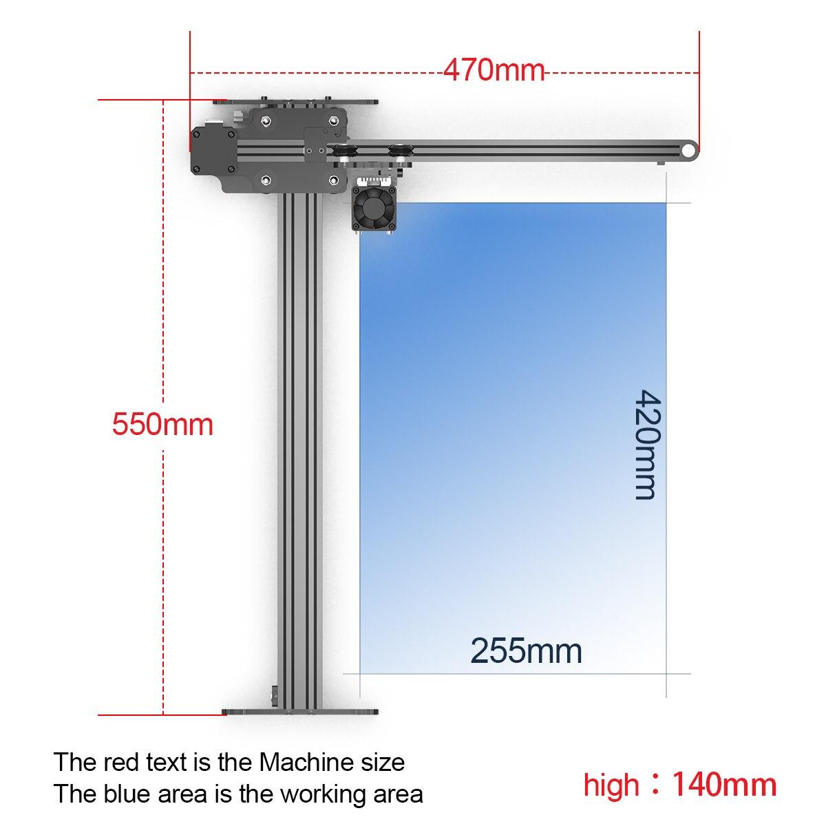 NEJE Master 2S Plus 80W CNC Laser Engraving Cutting Machine Wood Engraver Cutter Metal Mark Tool Bluetooth-App Control Lightburn enlarge