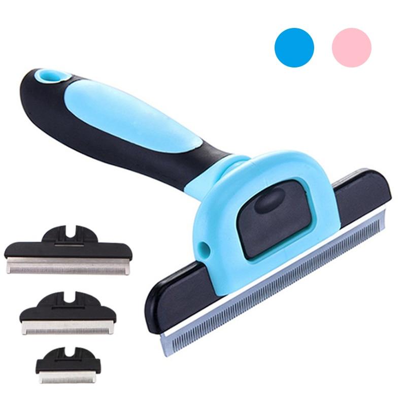 Расчески для удаления волос для собак, инструменты для ухода за кошками, съемные аксессуары для домашних животных, товары для собак