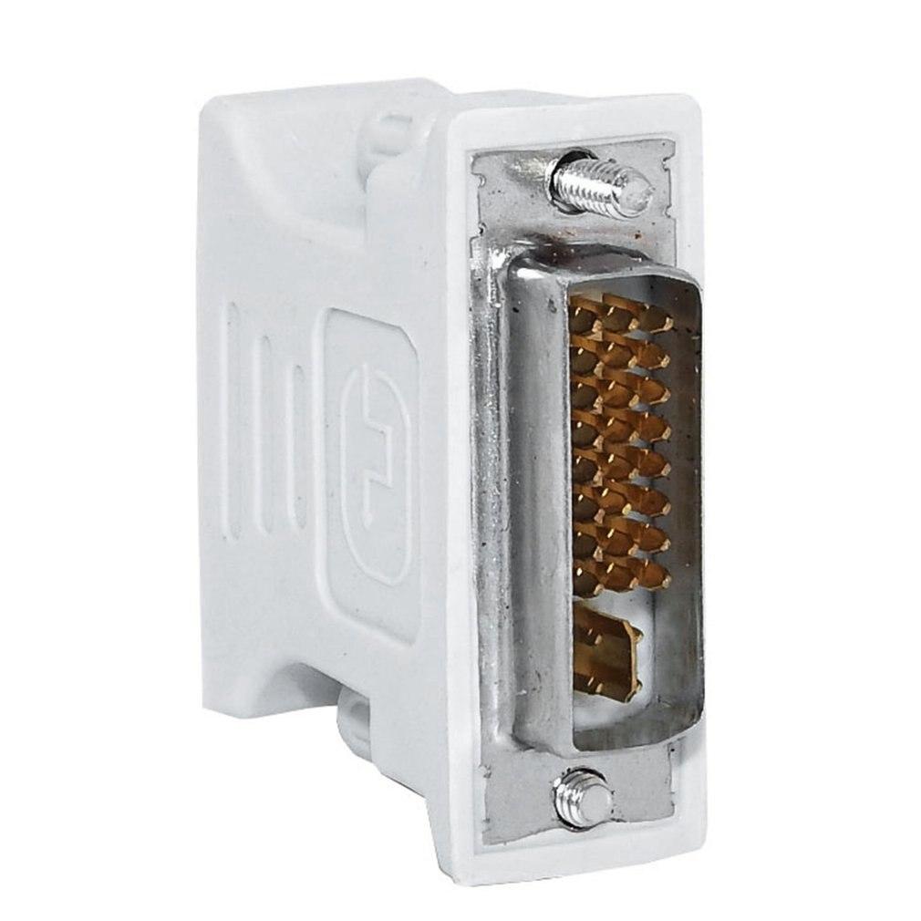 Adaptador DVI-I a VGA en forma de L, Adaptador convertidor de conector...
