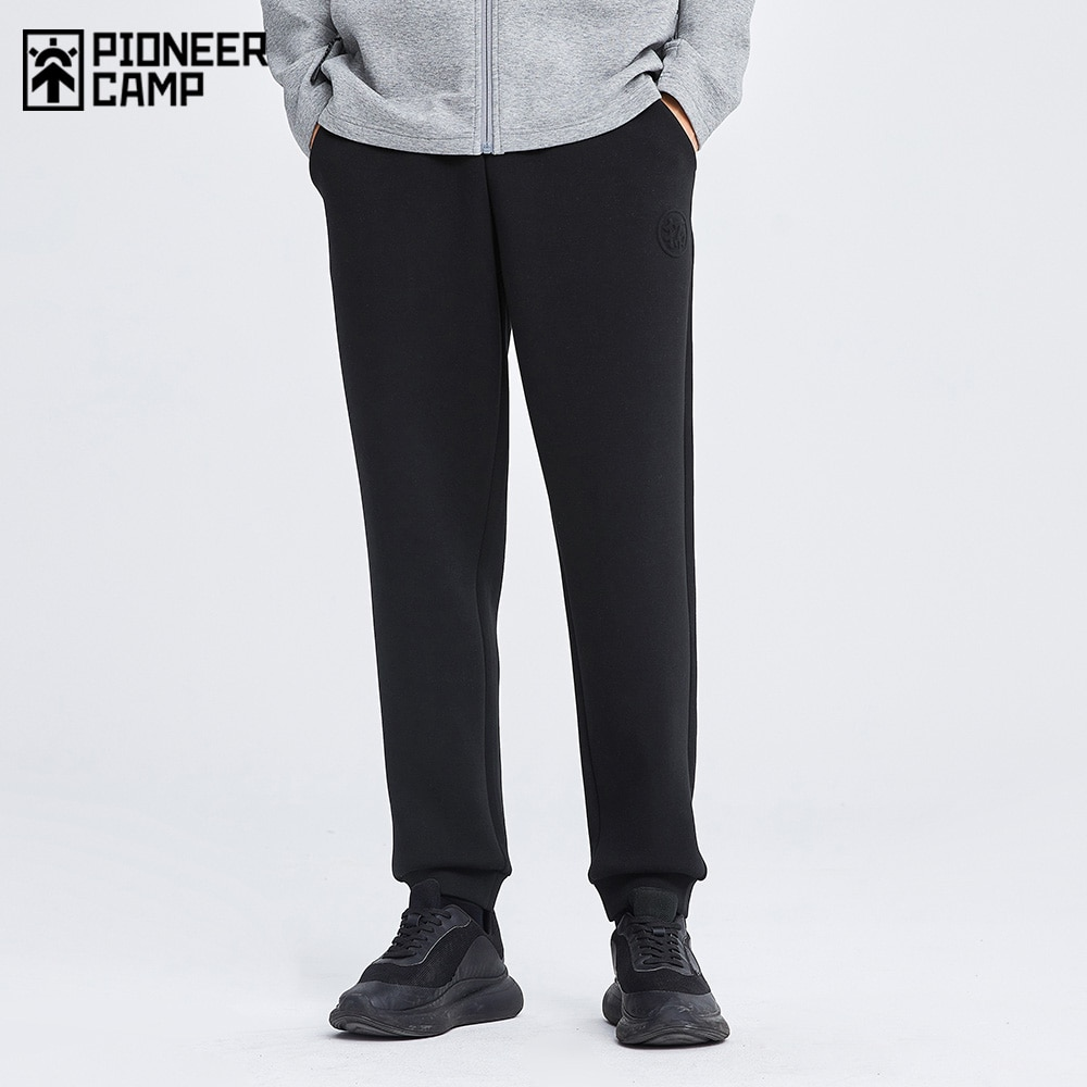 Pioneer Camp New Arrival Space Cotton Sweatpants for Men Black Grey Sweat Pants Male XZS123248A