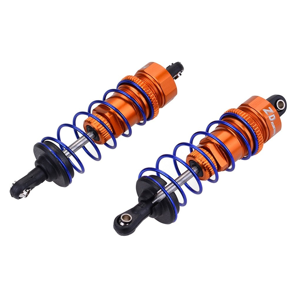 2PCS 92/105MM RC Alloy Front/Rear Oil Filled Shock Absorber Adjustable for ZD Racing 7358 1/10 RC Car Buggy Truggy Truck enlarge