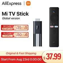 Оригинальный ТВ-стик Xiaomi Mi, Android TV 9,0, четырехъядерный, 1080P, Dolby DTS, HD декодирование, 1 ГБ ОЗУ, 8 Гб ПЗУ, Google Assistant, Netflix