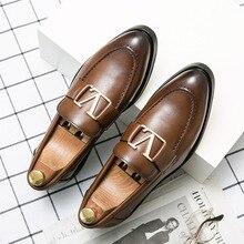Men PU Leather Fashion Shoes Low Heel Fringe Shoes Dress Shoes Brogue Shoes Spring Ankle Boots Vinta