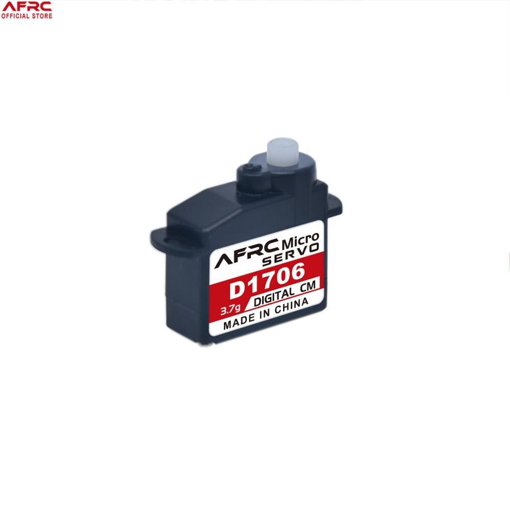 AFRC-D1706 3,7g Micro Servo Digital Mini JST y JR conector para RC avión coche juguetes modelo es especial DIY montaje mejora