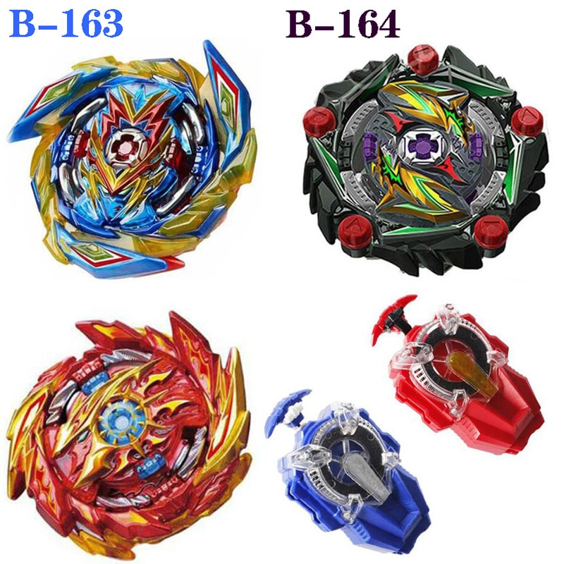 Todos los modelos lanzadores Kai Watch Land juguetes GT Arena de Metal Dios Fafnir girando Bey Blade cuchillas juguetes B-163 B-164 B-165
