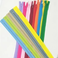5pcs 4inch 24 inch 10cm 60cm nylon coil zippers for tailor sewing crafts nylon zippers bulk 20 colors