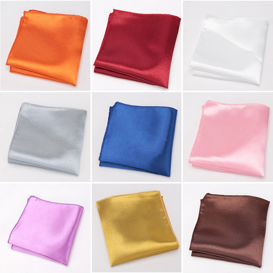 Hommes mouchoirs cravates pour hommes mode Hankies Polyester Hanky affaires poche carré poitrine serviette Cravat cadeaux accessoires cravate