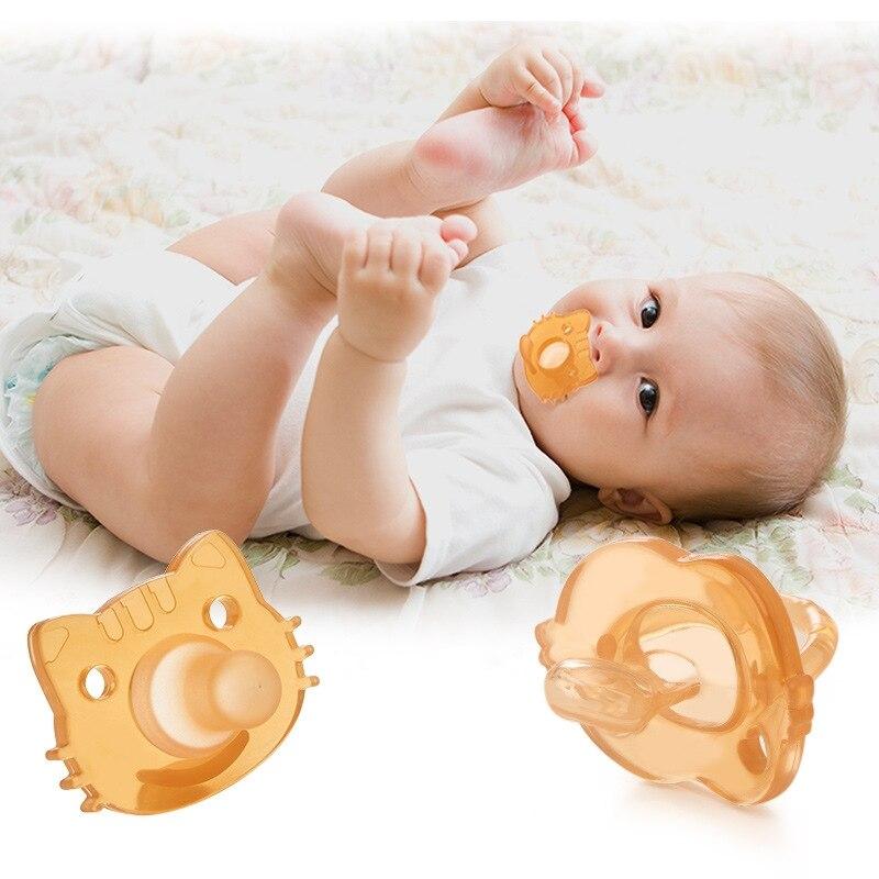 1 Uds chupete de bebé de dibujos animados niños recién nacidos niños pequeños bebé ortodóntico suave silicona Dummy chupete tetina de alimentación Accesorios