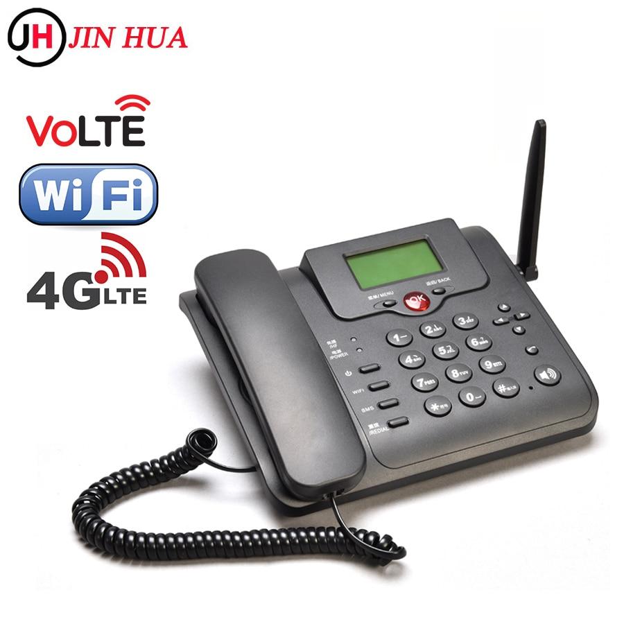 JHYZX LTE Router Volte Fixe Phone Landline FDD B1 B3 B5 B7 B8 B20 3G 4G Sim Card Hotspot Wifi Router GSM Desk Telephone Dongle