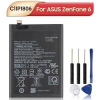 Оригинальный сменный аккумулятор C11P1806 для ASUS ZenFone 6 ZS630KL I01WD, аккумулятор 5000 мАч