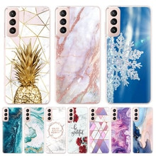 Case For Samsung Galaxy S21 5G coque Silicone TPU Back Cover On for Galaxy S21 galaxy S 21 luxury m