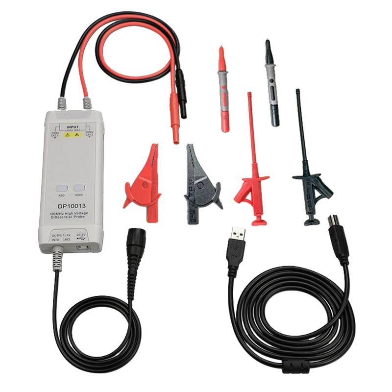 Kit de sonda diferencial de alto voltaje para osciloscopio inteligente Digital el mejor precio