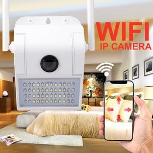 1080P IP Camera 4X Digital Wireless Outdoor Smart Camera Waterproof Wall IR Night Vision Motion Detection Smart Induction Lamp