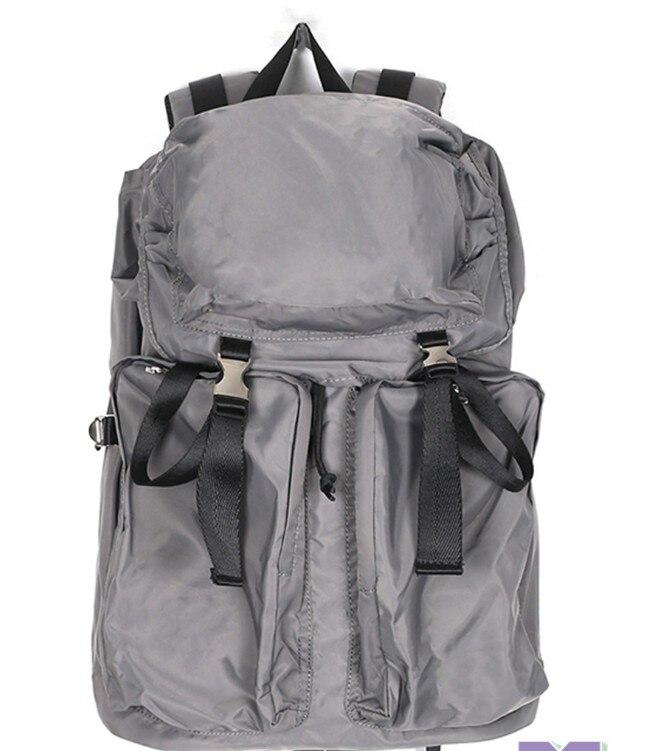المظلة المواد مقاوم للماء الأوروبية والأمريكية حقيبة ظهر بسعة كبيرة ins كاني ويست نمط هابس الهيب هوب حقيبة السفر