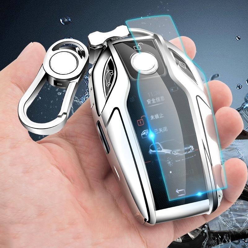 AliExpress - New TPU Car Remote Key Full Cover Case For BMW 5 6 7 Series GT 730 740 530i X3 X5 X6 X7 G11 G12 740li Remote Key Shell Holder