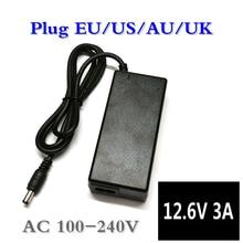Chargeur de batterie au Lithium 12.6V 3A pour 3S 10.8V 11.1V 12V li-ion polymère batterry chargeur de lumière de pêche chargeur de perceuse électrique