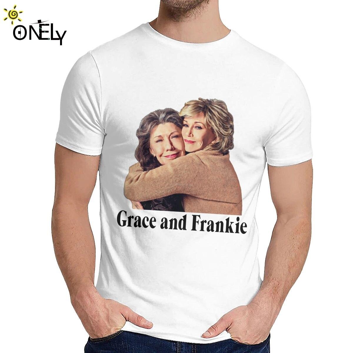 Camiseta ajustada de Grace y Louis Hug Orange Is The New Black...