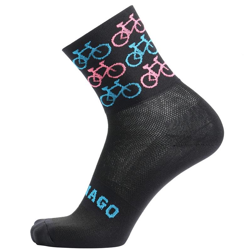 2019 Quality Professional Brand Sport Pro Cycling Socks Comfortable Road Bicycle Socks Mountain Bike Socks Racing Socks