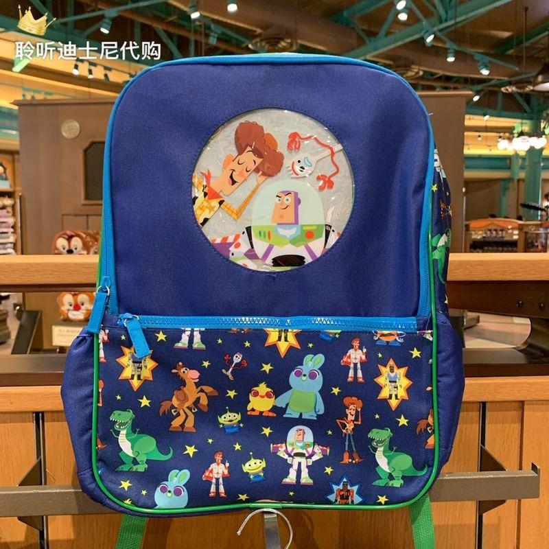 Authentic Shanghai Disney Purchasing Toy Story Bass Huditras Children's Cartoon Backpack School Bag  Backpacks for School