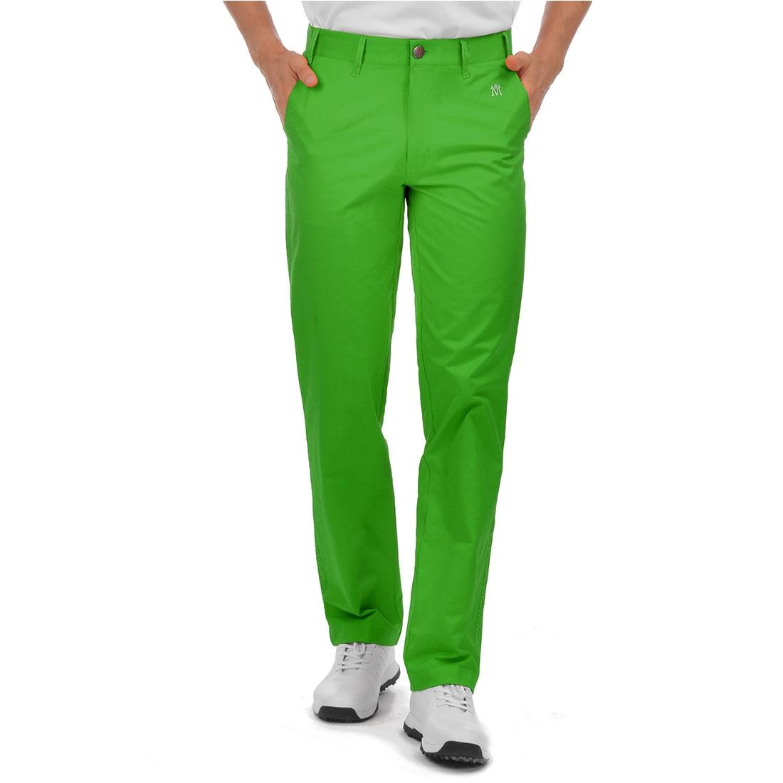 الرجال الغولف السراويل Lesmart الجافة تناسب تنفس تشينو السراويل مرونة الترفيه عادية لينة الرياضة السراويل الطويلة لربيع وصيف