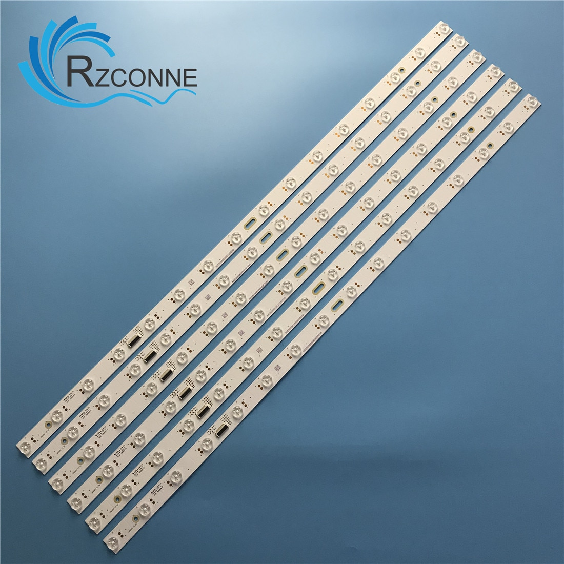 739 مللي متر LED شريط إضاءة خلفي 16 مصباح ل Vizio 65 ''التلفزيون LB65063 V3_00 PX65-G1 PQ65-F1 T650QVF09.0