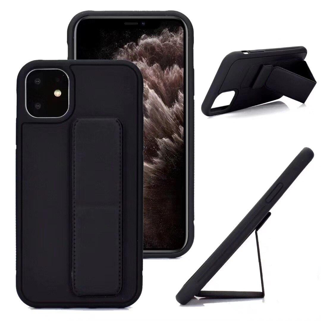 Funda de teléfono de cuero para Apple iphone 6 6s 7 8 plus X XR XS MAX 11 11 PRO MAX soporte de la cubierta del teléfono