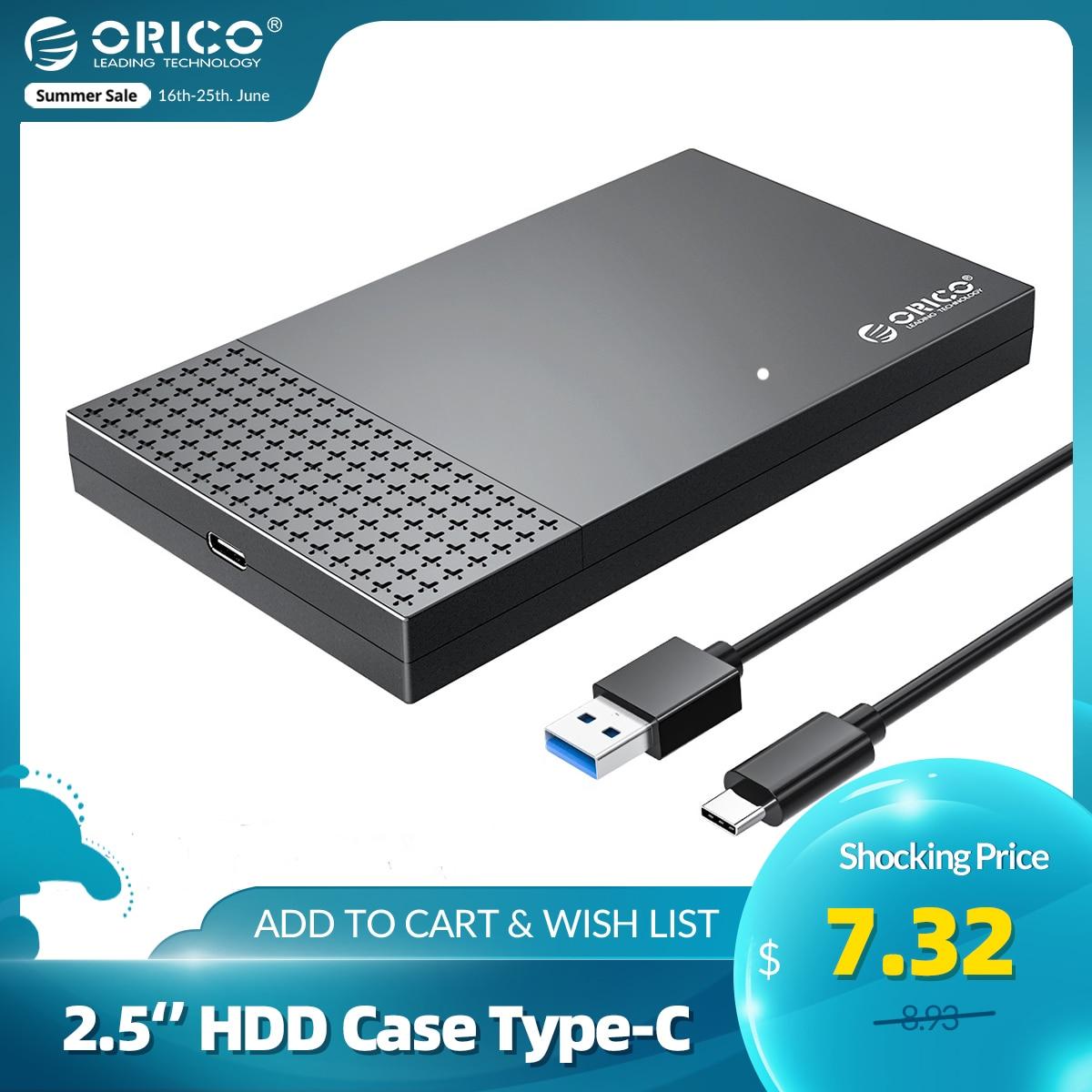 ORICO HDD Case Type-C SATA to USB 3.0 2.5