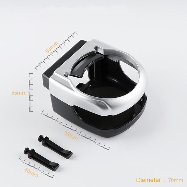 Car Cup Holder Outlet Air Vent Cup Rack Beverage Mount Insert Stand Holder Drink Bottle Stand Container Hook Car Accessories 6