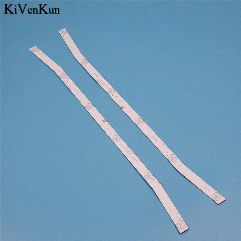TV Lamps Matrix LED Backlight Strips For NEVIR NVR-7408-32HD-N 32inch Bars Kit LED Bands JS-D-JP3220-061EC Rulers Article Line