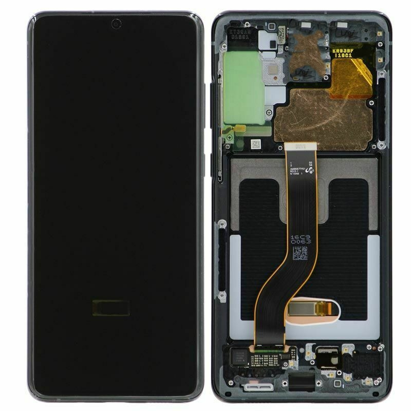 For Samsung Galaxy S20 PLUS LCD G985 G985F touch screen digitizer with frame S20PLUS LCD G985 display with line or black dot enlarge