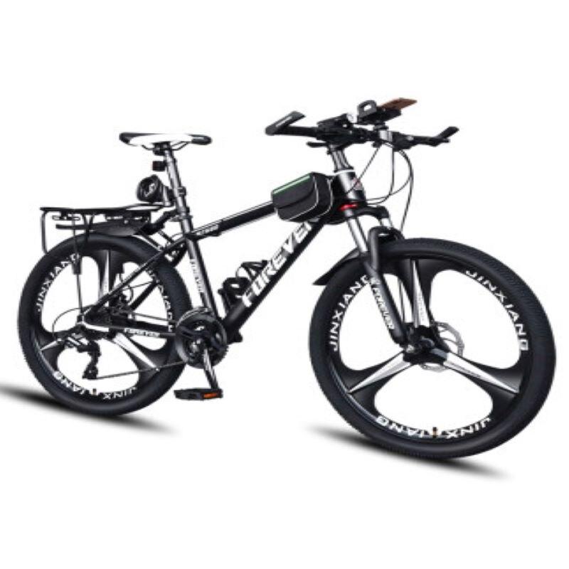 Bicicleta de Montaña de velocidad 21/24/27/30 pulgadas para hombre y adulto, bicicleta para estudiante con luz y velocidad variable, todoterreno