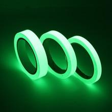 3M Length Glow In The Dark Wall Stickers Fluorescent Stairs Sticker DIY Anti-collision Sticker Warning Luminous Strip
