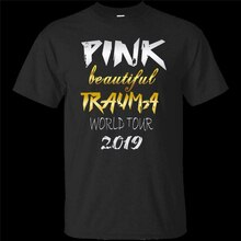 Pink Beautiful Trauma World Tour 2019 Short Sleeve Black T-Shirt Size S-5Xl Funny Tee Shirt