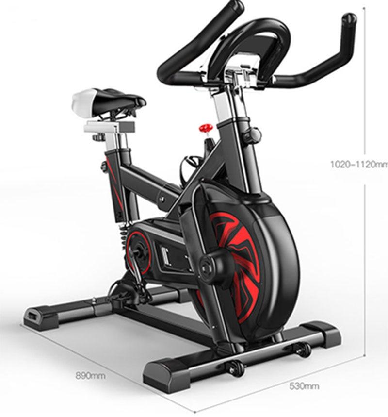 Spinning bicycle exercise bike household bicycle indoor exercise bike gym exercise equipment, smart APP, bord frame, flywheel